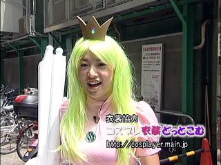 コスプレ衣装どっとこむが製作したスーパーマリオブラザーズ・ピーチ姫の衣装