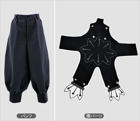 BLAZBLUE ツバキ・ヤヨイ(コンティニュアム・シフト版衣装)