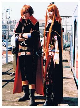 『銀河鉄道999』 エメラルダス、ハーロック - エメロード様(群馬県出身)